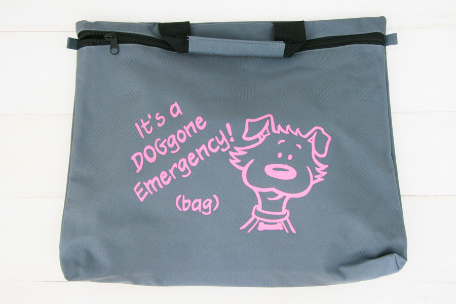 Pet Safety Bag - great for emergencies