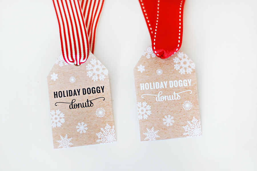 DIY Holiday Dog Donut Toy Tutorial