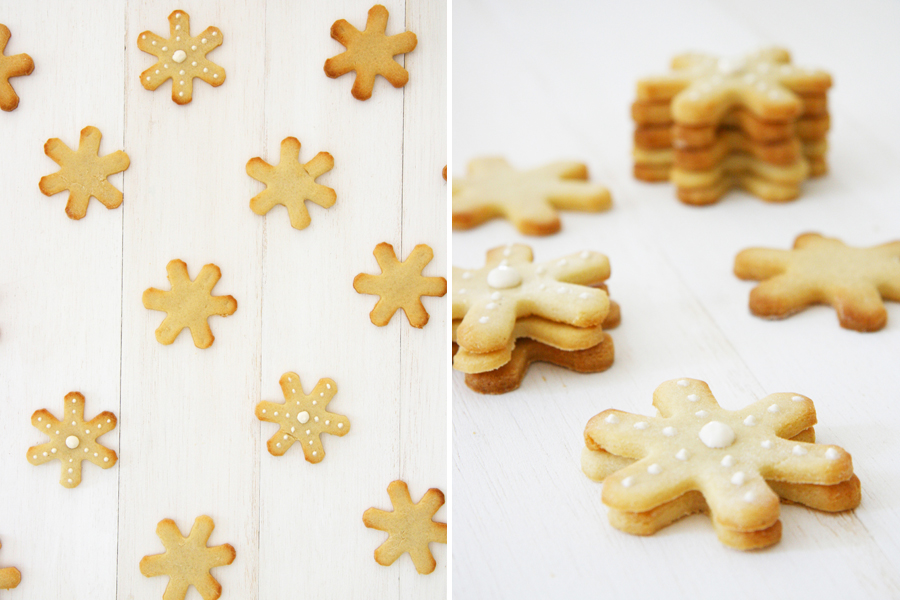 Snowflake Shortbread Cookie Dog Treat Recipe | Pretty Fluffy - Make your own snowflake cookie dog treat recipe with our free tutorial. A perfect, easy way to include your dog in the holiday season!