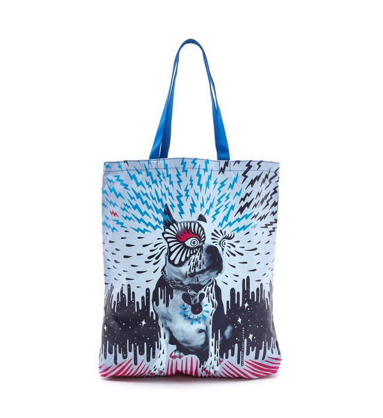 Marc by Marc Jacob Olive Animal Graphic Tote | Pretty Fluffy