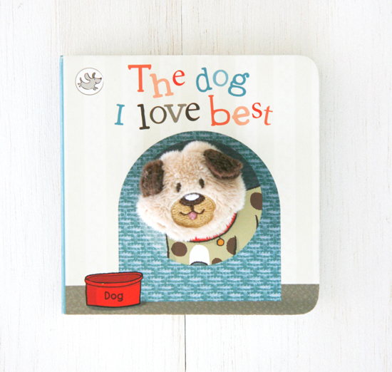 The Dog I Love Best | Childrens Picture Book with Finger Puppet | Pretty Fluffy