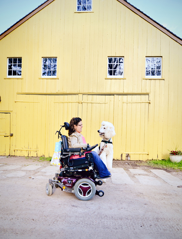 Kingsley the Assistance Dog by Jessica Cobb Pet Photography | Pretty Fluffy
