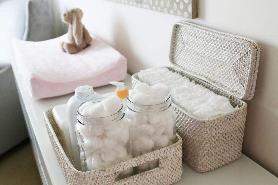 A Pet Friendly Nursery | Baby Girl Nursery | www.prettyfluffy.com