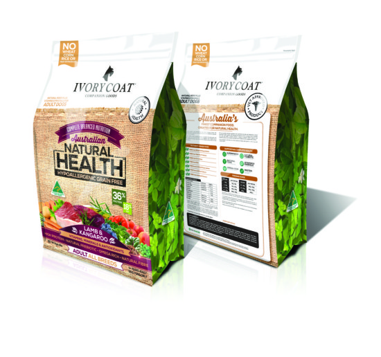 Ivory Coat Dog Food - Grain free and packed with superfoods | www.prettyfluffy.com
