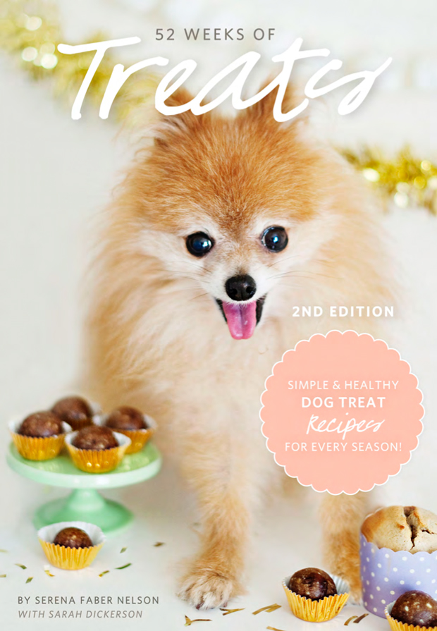 Join thousands of happy dog owners (and happy dogs!) who have enjoyed the Ebook 52 Weeks of Treats 2nd Edition - Simple & Healthy Dog Treat Recipes for Every Season. | Get your copy at www.prettyfluffy.com