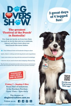 Dog Lovers Show Sydney - WIN 1 of 5 Double Passes