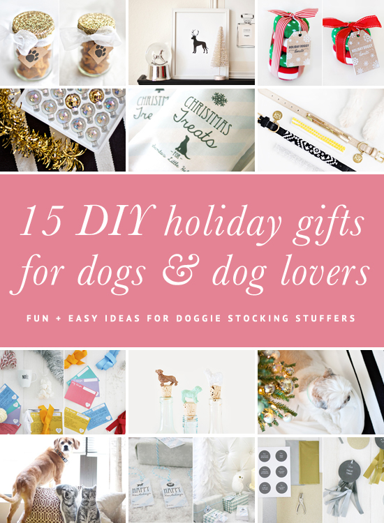 15 DIY Dog Christmas Gifts for Dogs & Dog Lovers | www.prettyfluffy.com