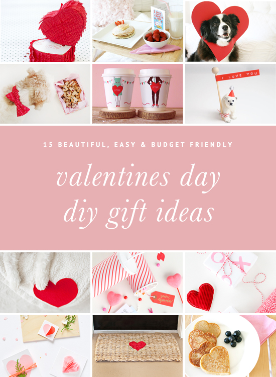 15 Beautiful & Easy Valentines Day DIY Gifts