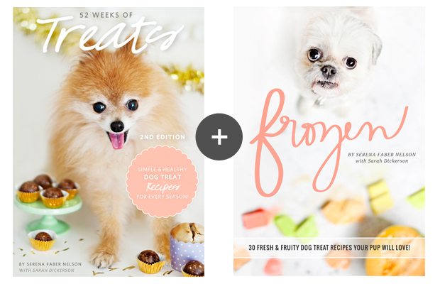 The best dog treat recipes eBooks! Get over 60 easy, healthy and tasty dog treat recipes in Pretty Fluffy's dog treat eBook bundle.