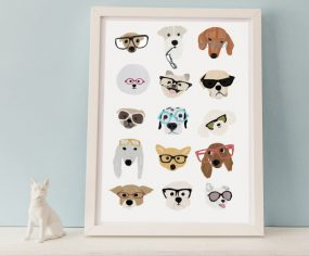 Art Prints for Dog Lovers from Fancy Huli