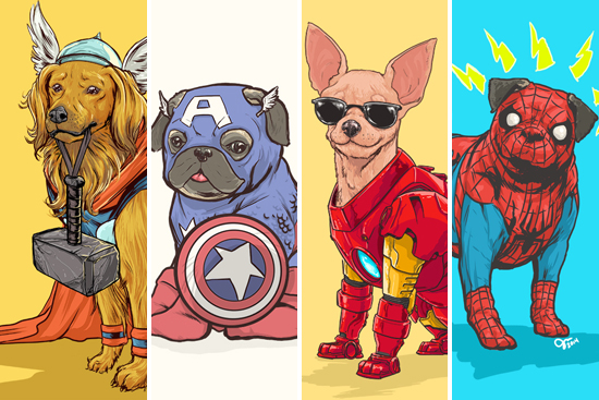 QUIZ: What's your dog's superhero alter-ego?