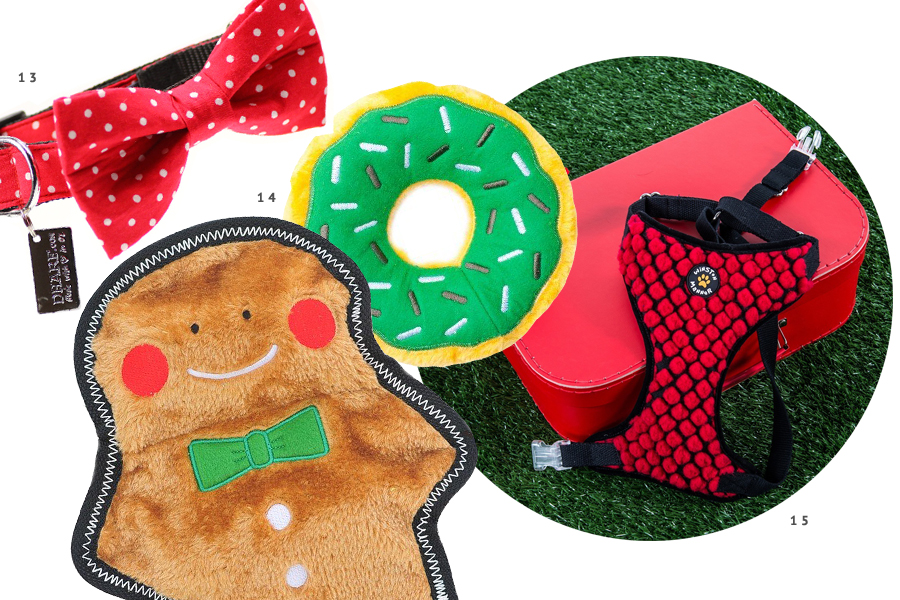 The ultimate holiday gift guide for dogs - the best stocking stuffers, dog treats, toys and dog christmas presents to pamper your pet this holiday season.