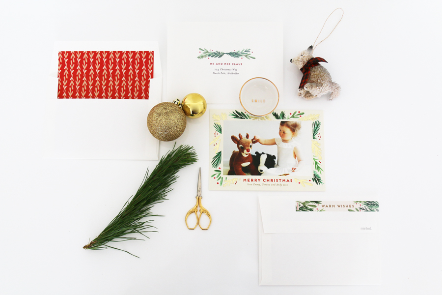 Personalise your own photo Minted holiday cards with hundreds of designs, gold foil, letterpress options & free envelope addressing. Includes DISCOUNT CODE.