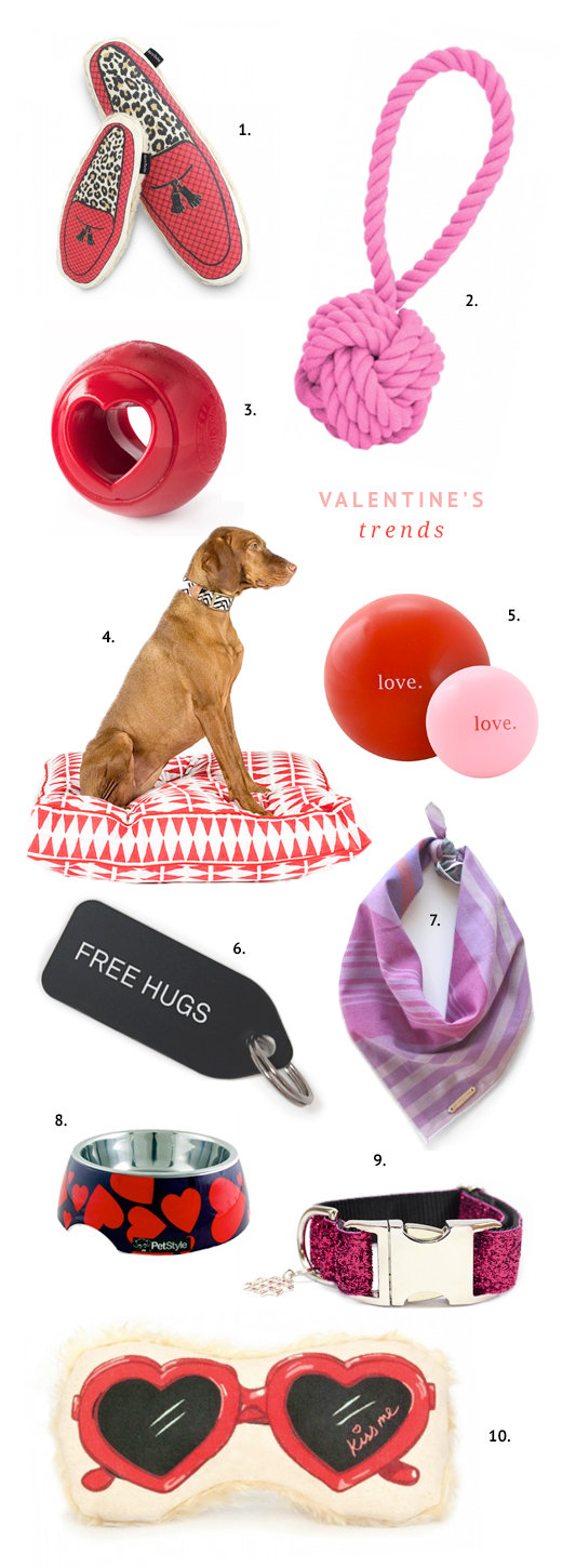 The perfect picks for your dog this Valentine's Day. Show your dog you love them with these budget friendly yet beautiful toys, treats and goodies