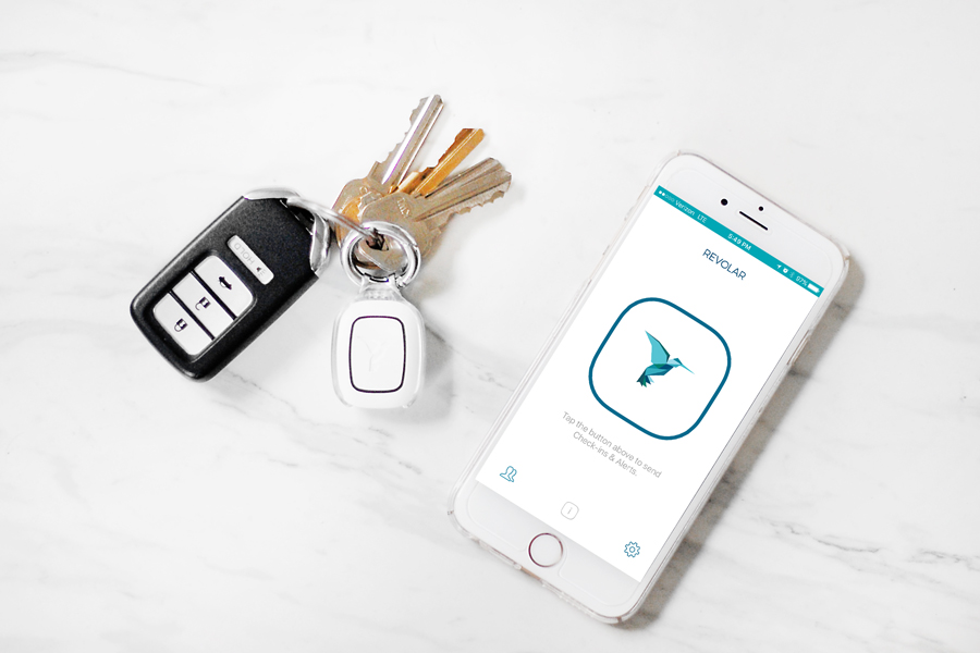 Revolar Instinct Review - how this tiny device keeps you safe in one click. The easiest way to stay safe when walking alone, working late or in new areas.