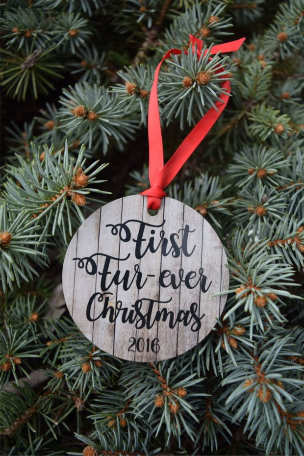 Personalized Pet Ornament - These are the dog mom essentials you need in your life this year.