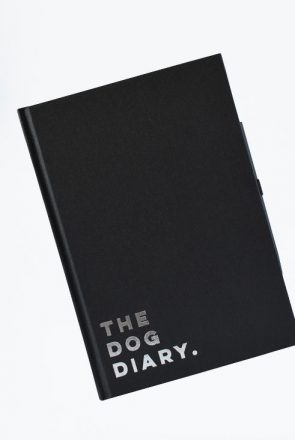 The Dog Diary is a classic, sophisticated diary designed for modern pet parents who have a crazy love for dogs (and style).