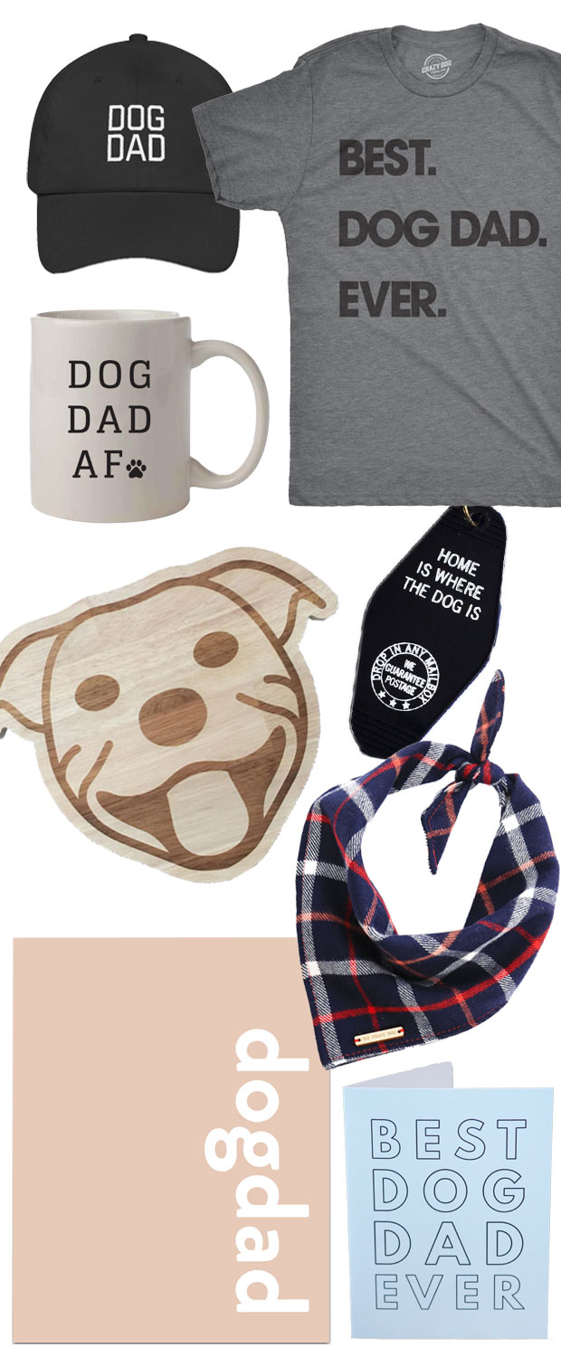 Everything a dog dad could want! The ultimate list of non-cheesy Father's Day gift ideas for dog dads and dog lovers. Ideas for every taste and budget.