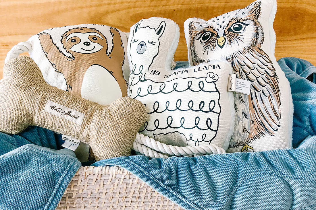 Our favorite picks from PetBarn's premiere new House of Barker & Denim Days collection - featuring luxe velvet dog beds, neutral dog toys, collars and more!