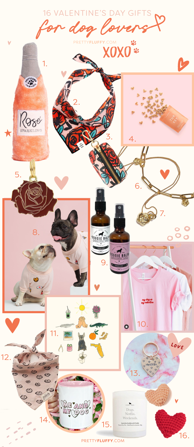 A Collection of Valentine's Day Gifts for Dog Lovers