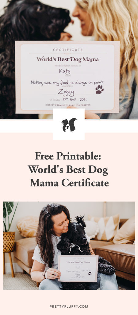 Pretty Fluffy_Best-Dog-Mama---Certificate_Printable