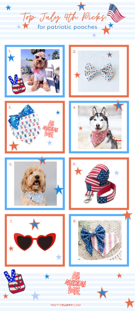 Editor's Picks: Top July 4th Dog Accessories for Patriotic Pups
